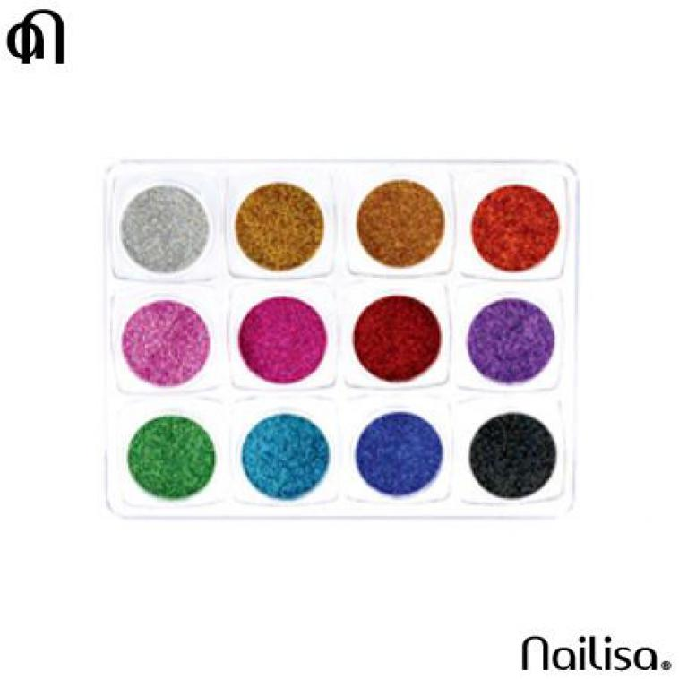 Hexagon Glitter 12 kleuren - photo 8