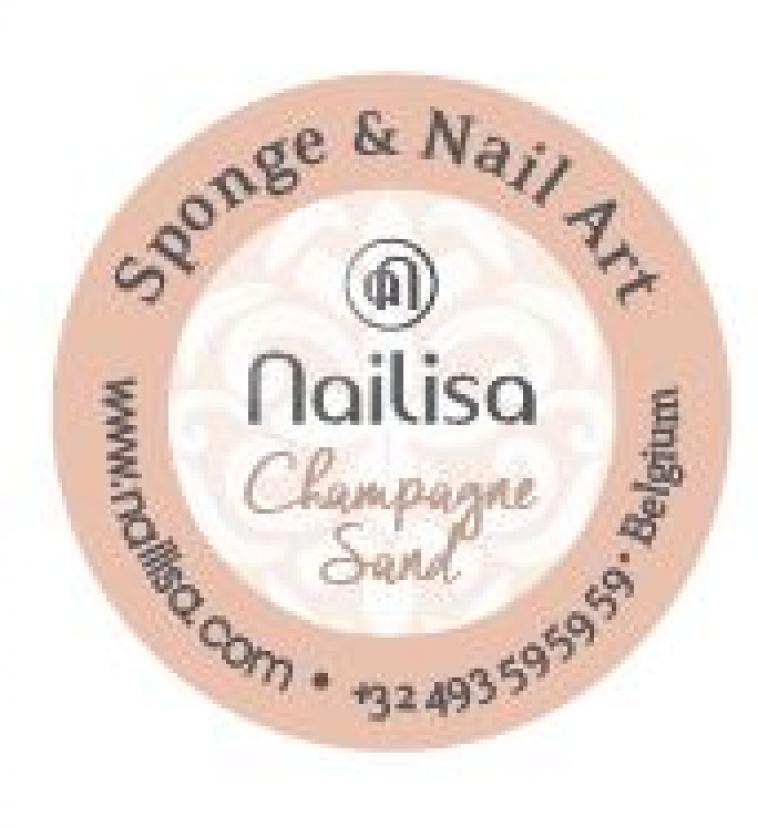 Painting Gel Sponge & Nail Art - Champagne Sand 5ml - photo 8
