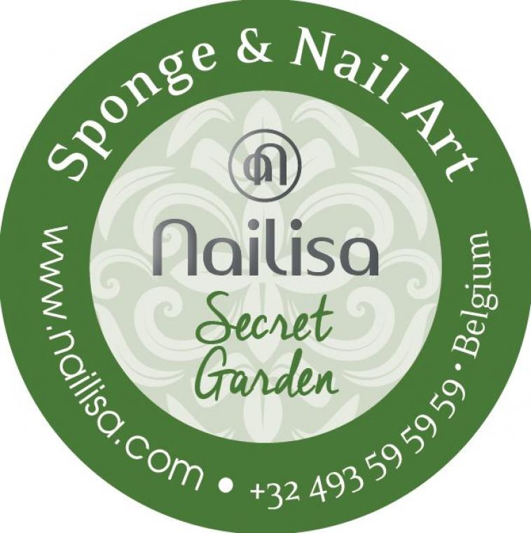 Painting Gel Sponge & Nail Art - Secret Garden 5ml - photo 8