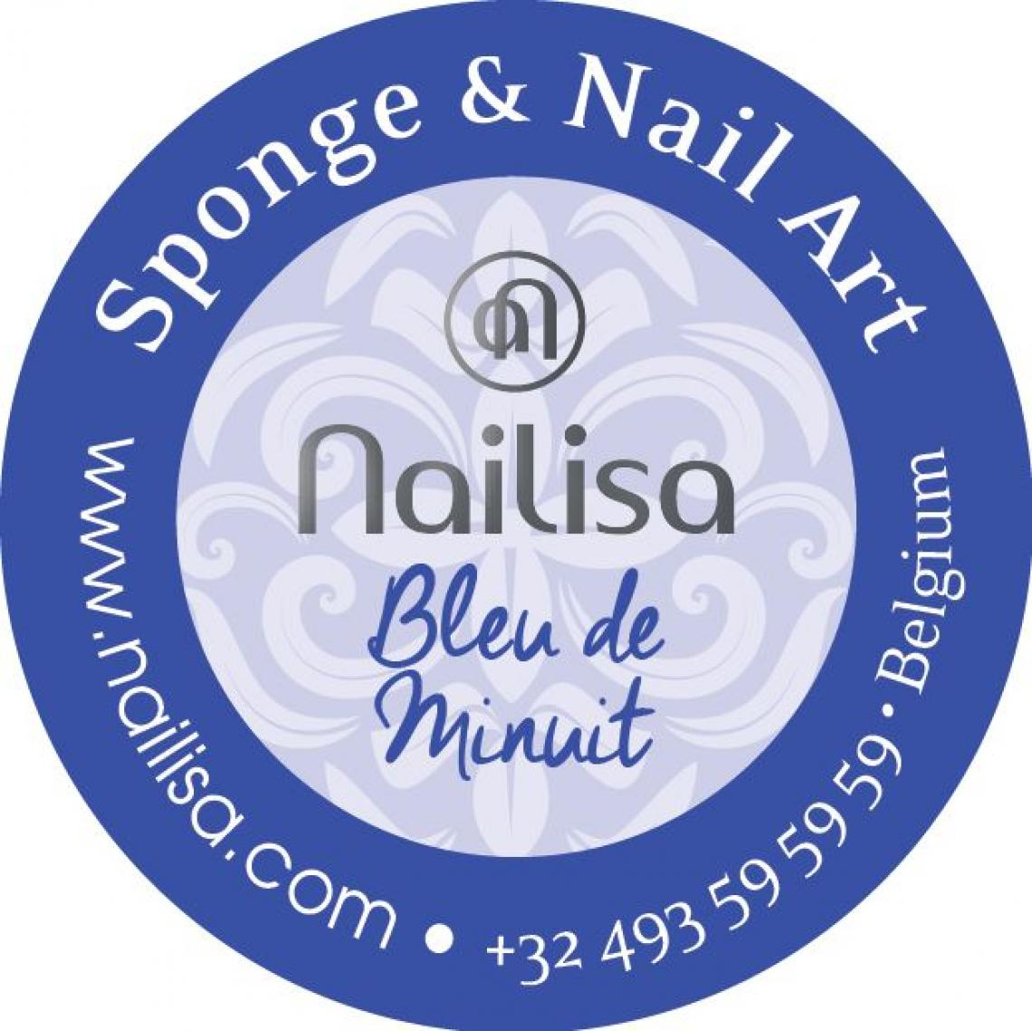 Painting Gel Sponge & Nail Art - Bleu de minuit 5ml - photo 8