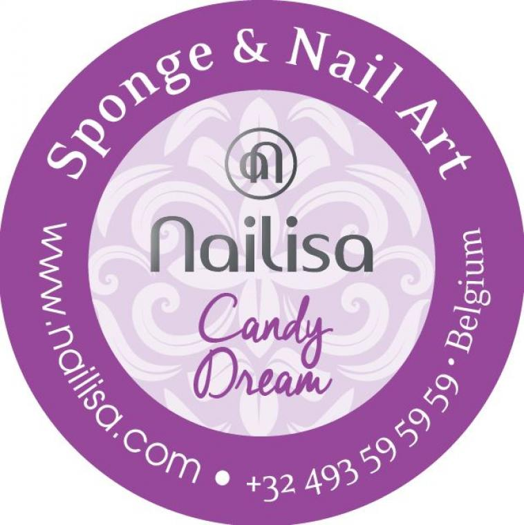 Painting Gel Sponge & Nail Art - Candy Dream 5ml - photo 8