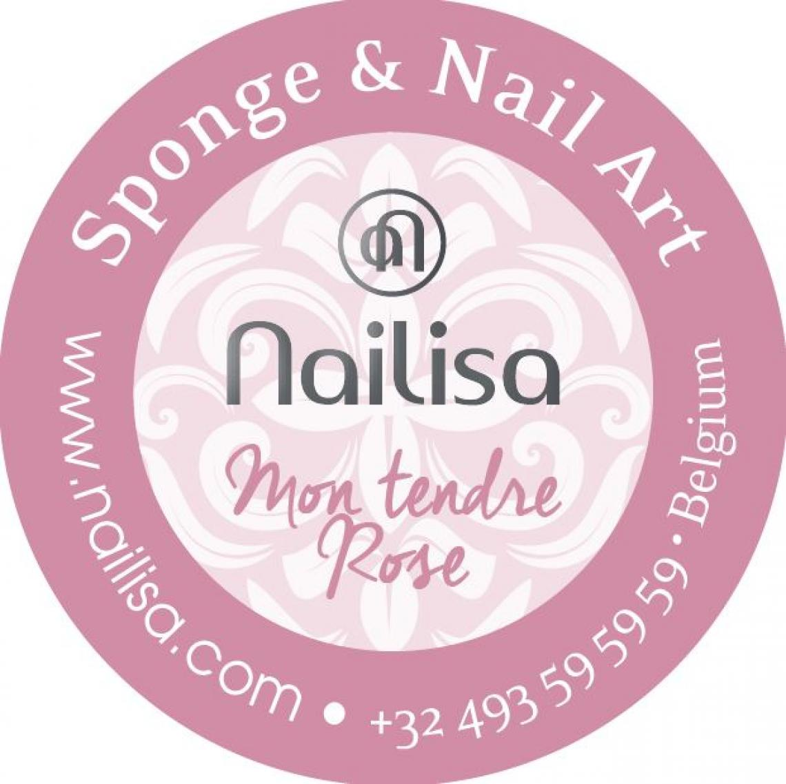 Painting Gel Sponge & Nail Art - Mon Tendre Rose 5ml - photo 8