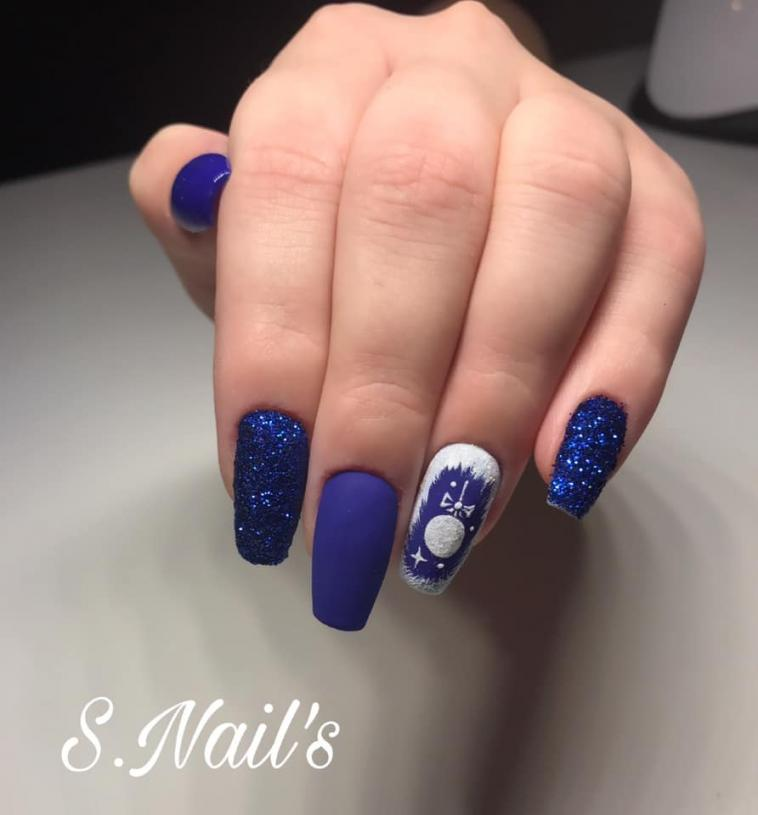 Painting Gel Sponge & Nail Art - Bleu de minuit 5ml - photo 10