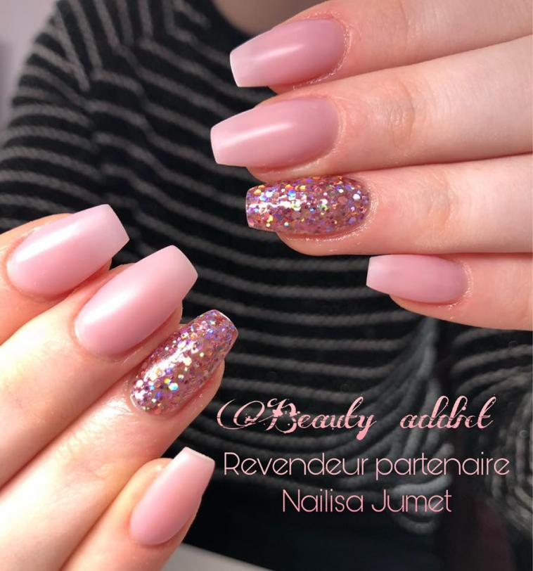 Gel de couleur Big Glitter Corail - photo 9