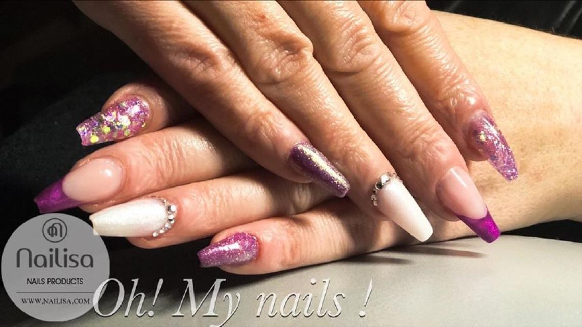 Nail Dazzling Purple - photo 8